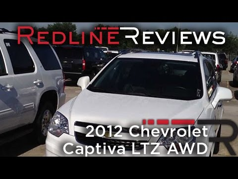 2012 Chevrolet Captiva LTZ AWD In-Depth Review