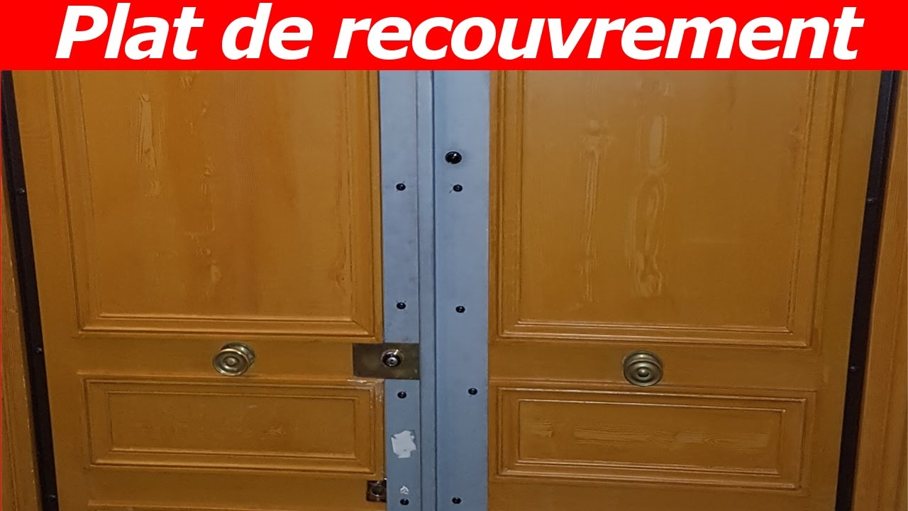 tuto blindage de porte avec un plat de recouvrement youtube. Black Bedroom Furniture Sets. Home Design Ideas