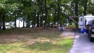 South Marcum campground Rend Lake Illinois