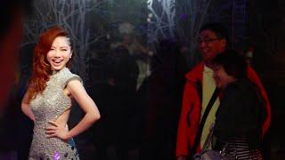 G.E.M. 鄧紫棋惡作劇 at Madame Tussauds Hong Kong (香港杜莎夫人蠟像館)