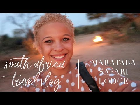South Africa Travel Vlog: Our Stay Marataba Safari Lodge