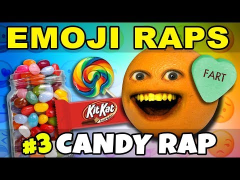 Annoying Orange - EMOJI RAPS #3: CANDY! 🍭🍬🍫🍦