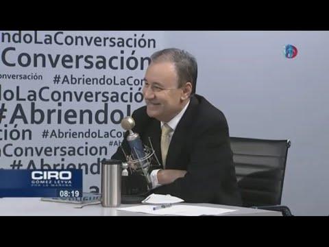 """""""No hay posibilidad de derrota""""; Durazo se registrará hoy como precandidato a gobernador de Sonora"""