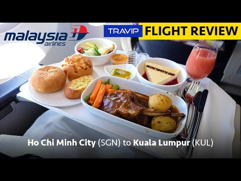 Malaysia Airlines Business Class review: Ho Chi Minh City to Kuala Lumpur | Travip Flight Review