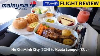 Malaysia Airlines Business Class review: Ho Chi Minh City to Kuala Lumpur   Travip Flight Review