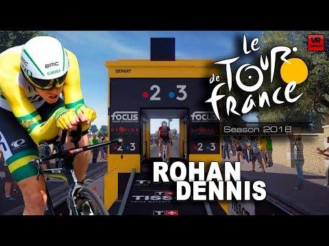 LE TOUR DE FRANCE 2018 Rohan Dennis, líder de La Vuelta VR_JUEGOS