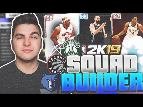 ONE PLAYER FROM EACH ANIMAL TEAM! NBA 2K19 MyTeam Squad Builder thumbnail