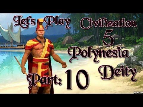 Part 10: Let's Play Civilization 5, Brave New World, Polynesia, Deity