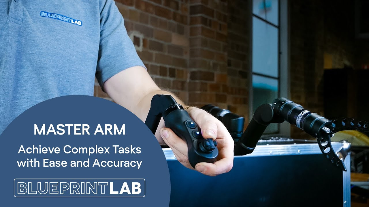 Master Arm Controller | Intuitive Control and Superior Accuracy