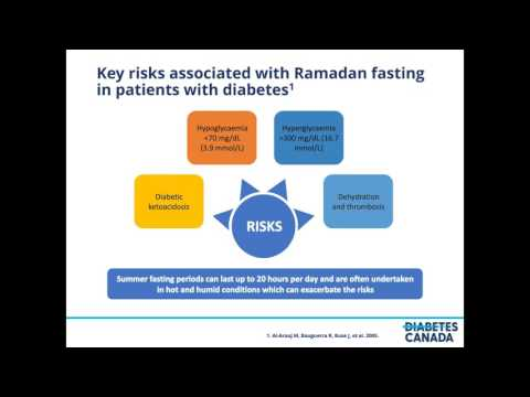 Ramadan and Diabetes for Health-Care Professionals