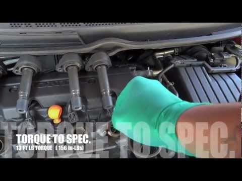 how to change spark plugs on a golf 4