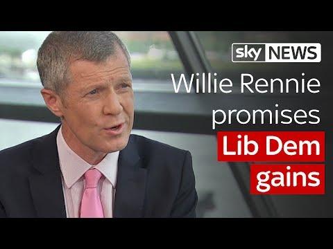 Willie Rennie promises Lib Dem gains #Ridge