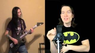 Take On Me by A-Ha Meets Metal (featuring PelleK)
