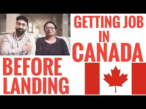 We Got Job Before Landing In Canada