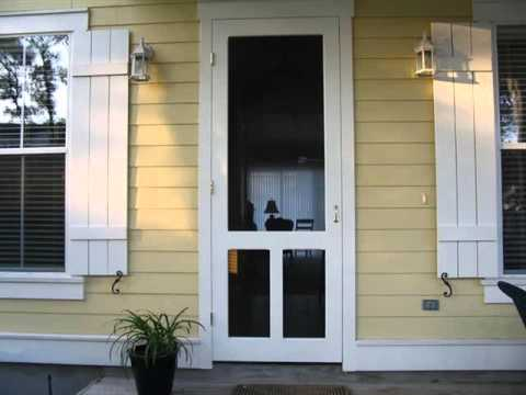 Screen Door For French Doors That Open Out | Screen Door ...