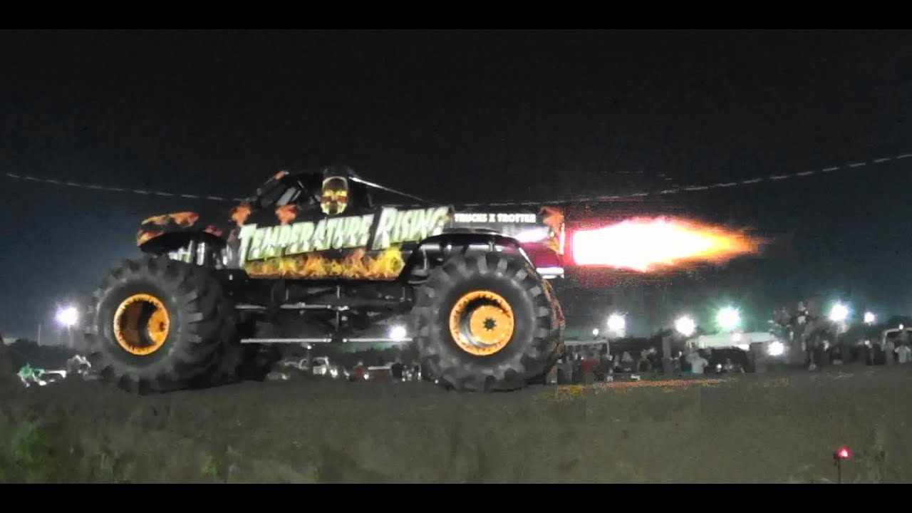 Temparature Rising Jet Monster Truck Bithlo Mud Racing