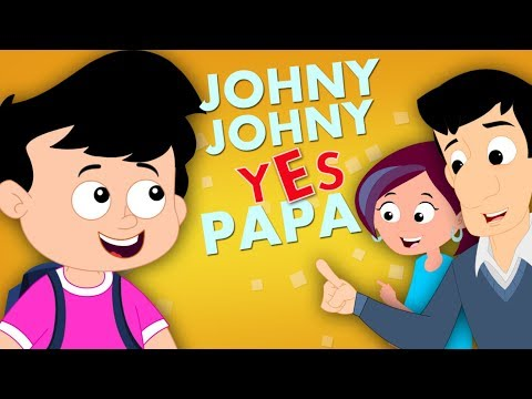 Thumbnail: Johny Johny Yes Papa Original Nursery Rhymes For Kids Part 1 Baby And Children Song kids tv S03 EP78