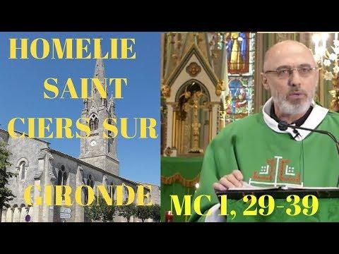 """""""TOUT LE MONDE TE CHERCHE JÉSUS !"""" MC 1, 29-39.  V Dimanche TO"""