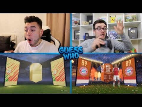 I DON'T BELIEVE IT 😈 GUESS WHO FIFA vs AJ3 🔥 (GUESS WHO PACKS)