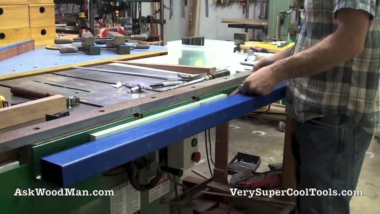 5 of 5 how to install guide rails diy biesemeyer style guide 5 of 5 how to install guide rails diy biesemeyer style guide rail series youtube greentooth Image collections