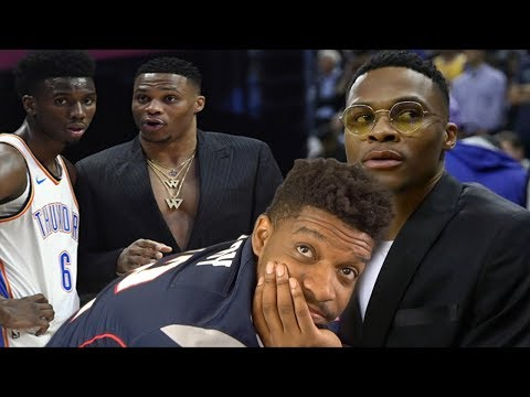 WE NEED RUSSELL ASAP THIS IS CRAZY! THUNDER vs CLIPPERS HIGHLIGHTS REACTION