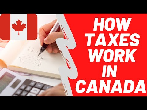 How Taxes Work In Canada | Individual Income Tax | Canadian Tax For Beginners | How To Save Tax