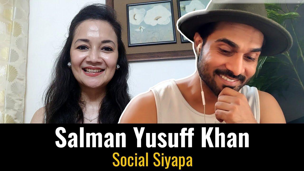 Salman Yusuff Khan In Social Siyapa | Rj Swati