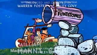 I Flintstones  (GLI ANTENATI) - sigla finale italiana - hq