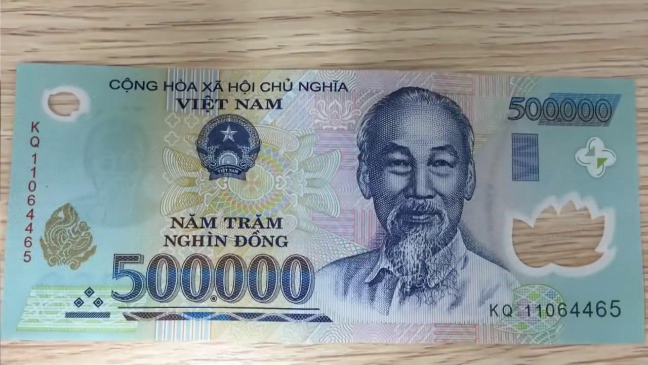 Nhận biết tiền thật tiền giả:50.000,100.000,500.000VNĐ