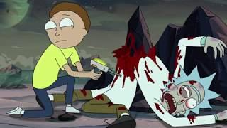 Morty kills Rick over Jessica - Rick and Morty