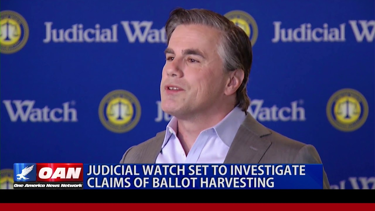 Judicial Watch Set To Investigate Claims Of Ballot Harvesting