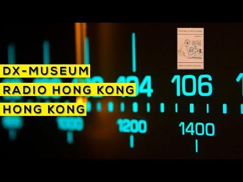 Sons do mundo pelo dial - Radio Hong Kong