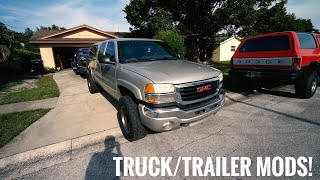 Tow Rig Update + Truck and Trailer Mods