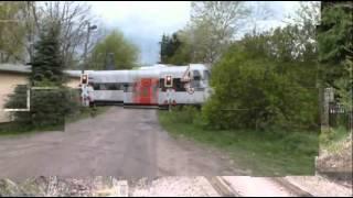 Niederbarnimer Eisenbahn: der Streckenabschnitt der Heidekrautbahn Berlin-Karow - Basdorf (Barnim)