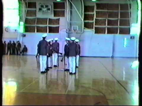 Waltham Massachusetts JROTC tape2 no volume Tina Sottile