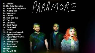 Paramore Greatest Hits  2020 Full album - The Best of Paramore playlist