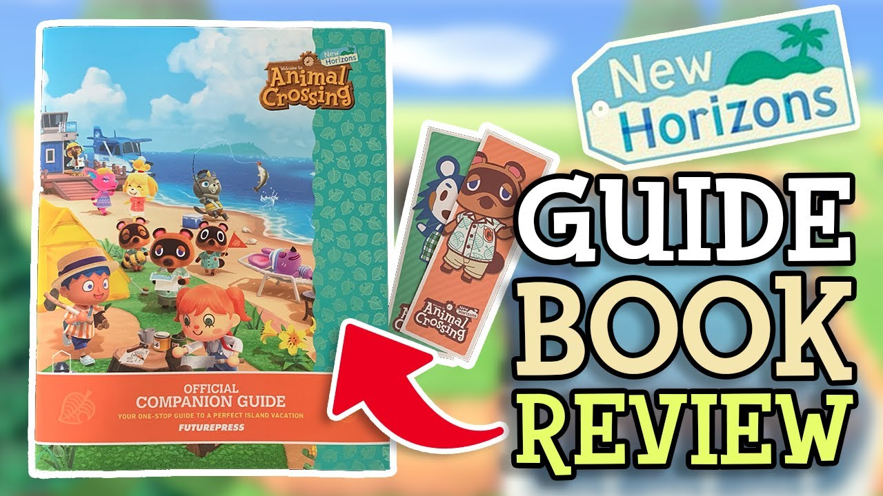 Animal Crossing New Horizons: COMPANION GUIDE BOOK REVIEW (Everything You Need To Know)