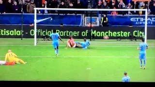 Manchester City 0-1 Middlesbrough 24/01/2015 GOAL