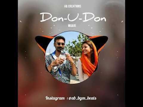 Don u Don u - Maari | Cute Dubsmash & Ringtone