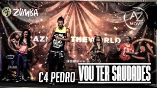 C4 Pedro - Vou ter saudades ft. Vitor Silva |Zumba Fitness|