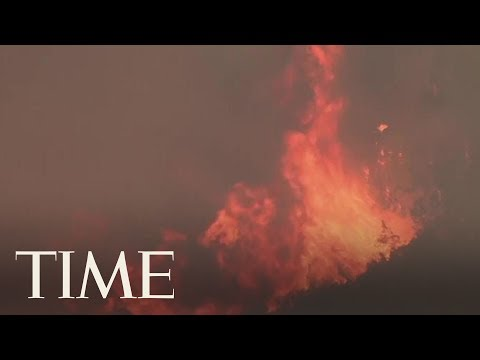 Twin Northern California Fires Threaten 12,000 Homes   TIME
