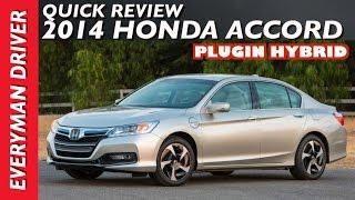 2014 Honda Accord Plugin Hybrid Review on Everyman Driver
