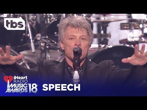 Bon Jovi: 2018 iHeartRadio Music Awards | Acceptance Speech | TBS