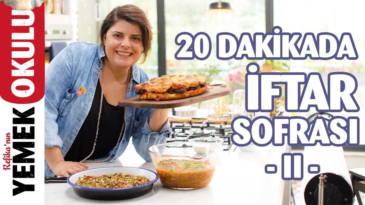 33TL'ye 20 Dakikada 3 Çeşit Yemek | İftara Son Dakika Ramazan Sofrası