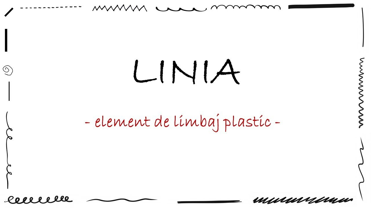 Download LINIA - element de limbaj plastic