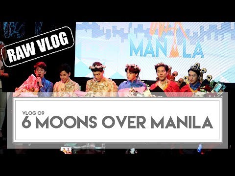 6 Moons Over Manila Fan Conference | Raw Vlog | Part 1 of 3