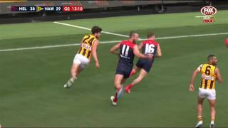 Round 20 AFL - Melbourne v Hawthorn Highlights