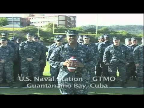 Naval Station Guantanamo Bay's Go Navy, Beat Army Commercial
