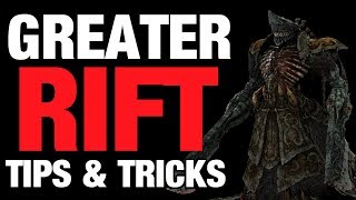 Diablo 3 - Greater Rift Tips \u0026 Tricks Seasonal/GR Non-Season Pushing