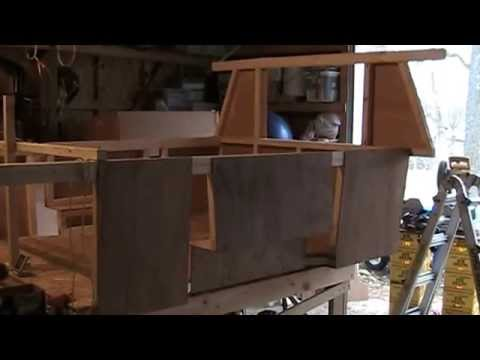 truck camper pop up building 2014 part 6 youtube. Black Bedroom Furniture Sets. Home Design Ideas